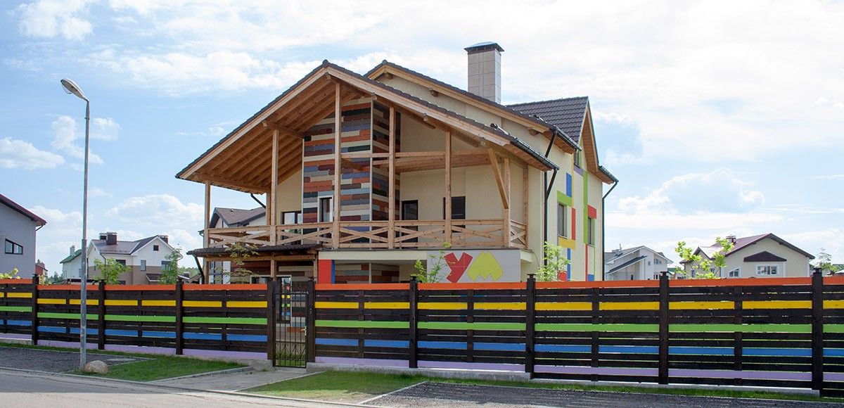 Первое здание детского сада в КП Family Club