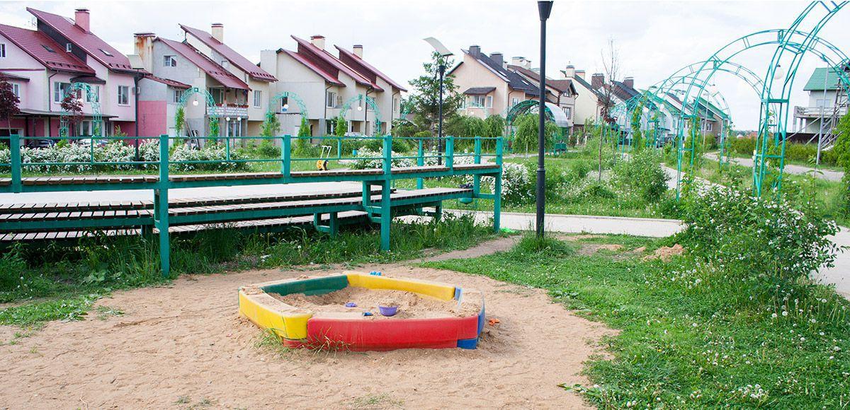 Песочница в КП Фэмили Клаб