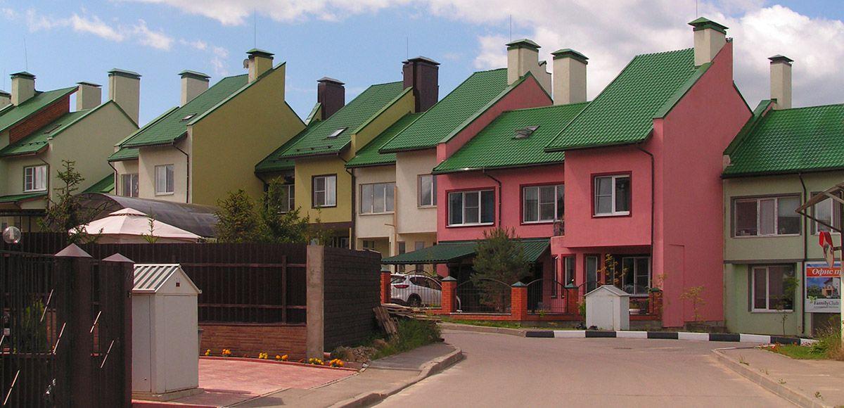 Квартал таунхаусов у КПП, КП  Family Club