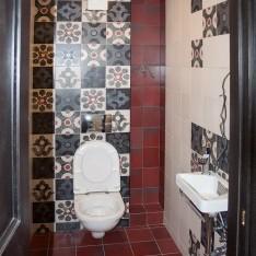 Санузел, 1 этаж, таунхаус в Арт Вилладже