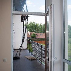Большой балкон, 2 этаж, таун в Арт Вилладже