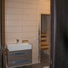 Ванная с сауной, 2 этаж, таунхаус с отделкой, Арт Вилладж