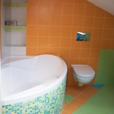 Детская ванная, вид 1, таун, КП Art Village
