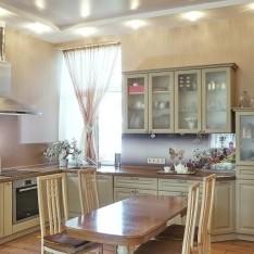 Гостиная: кухонная зона