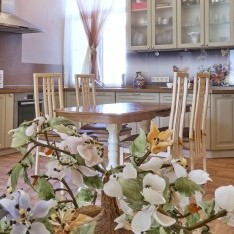 Кухня гостиная в тауне коттеджного поселка Арт Вилладж